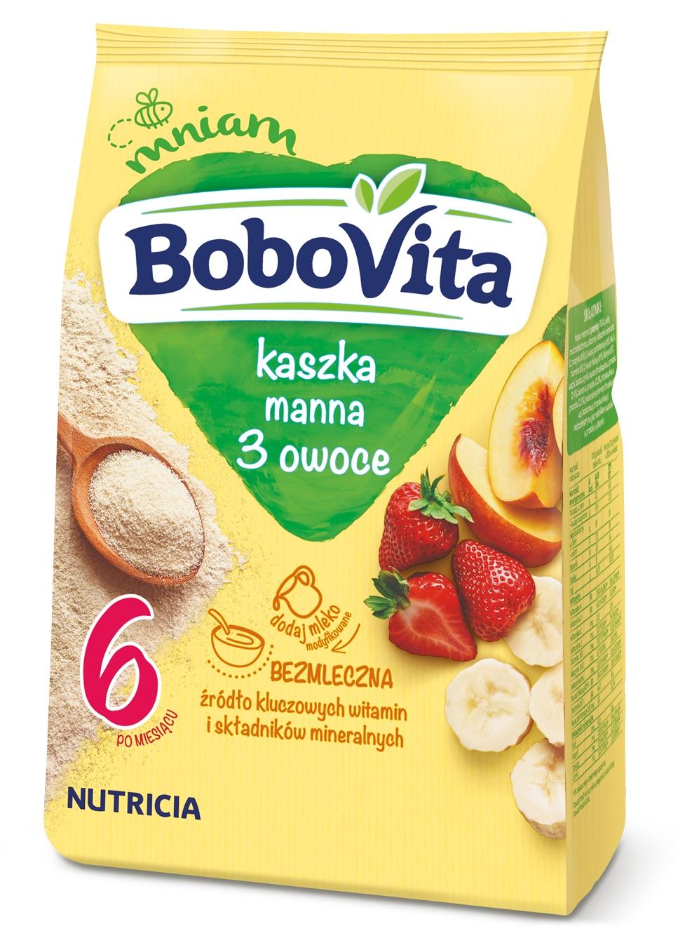 Poznaj bezmleczne kaszki BoboVita
