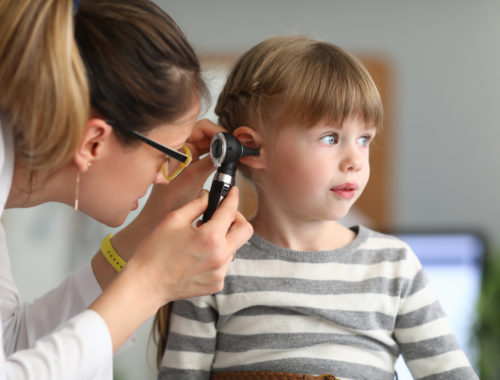 przewianie ból ucha u dziecka