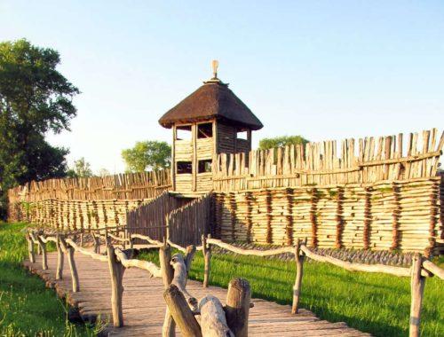 muzeum archeologiczne w biskupinie