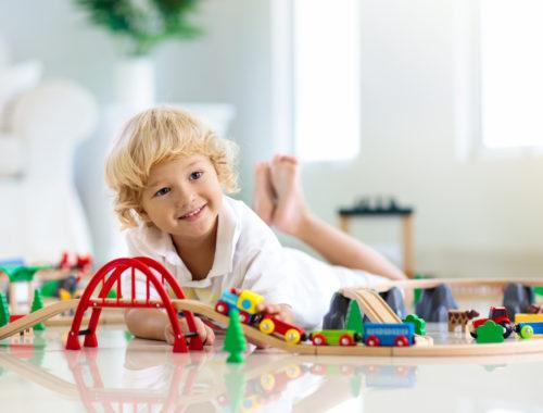 dzień dziecka z przedszkolakiem