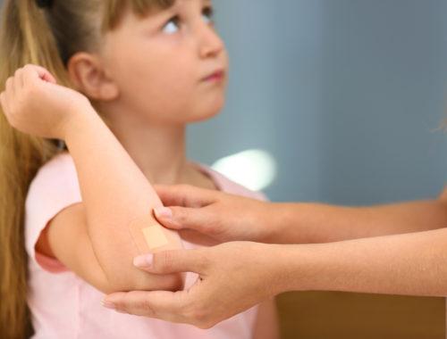 rany u daziecka