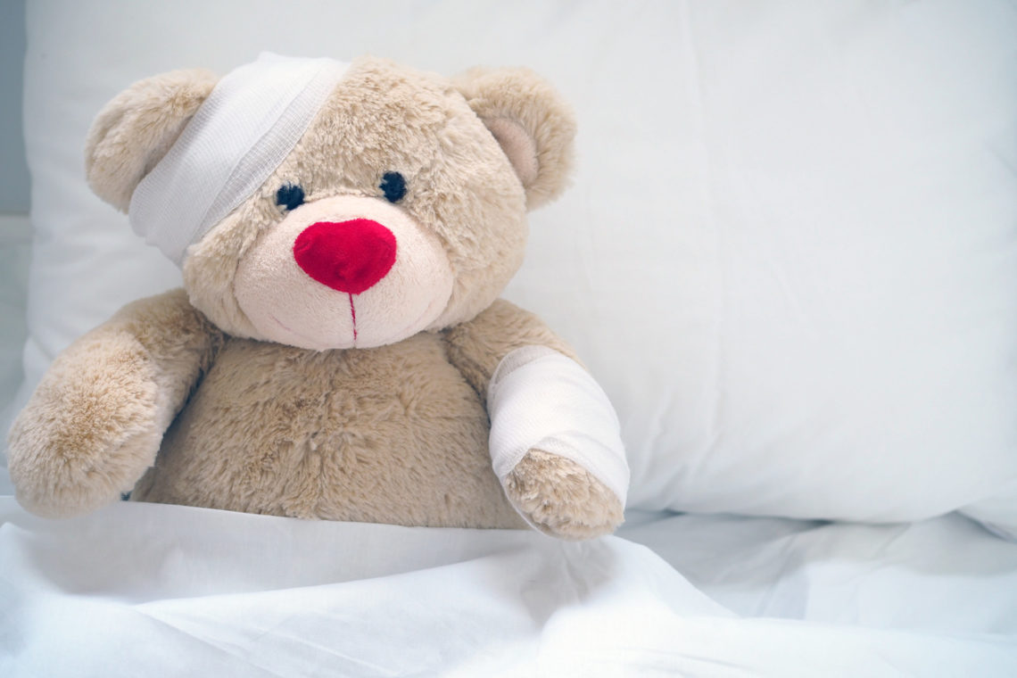 rany i urazy u dzieci