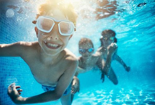 ucho pływaka u dziecka