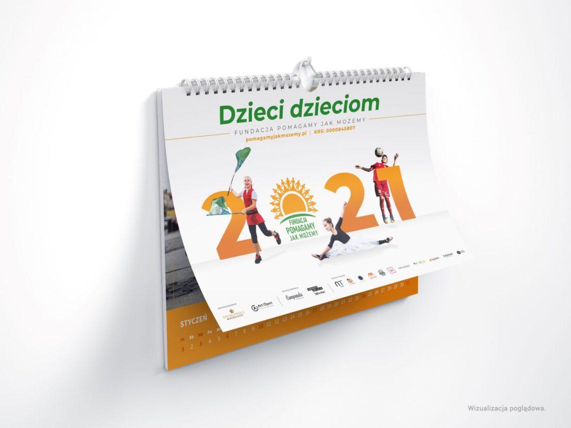 """Kalendarz charytatywny """"Dzieci dzieciom"""" 2021"""
