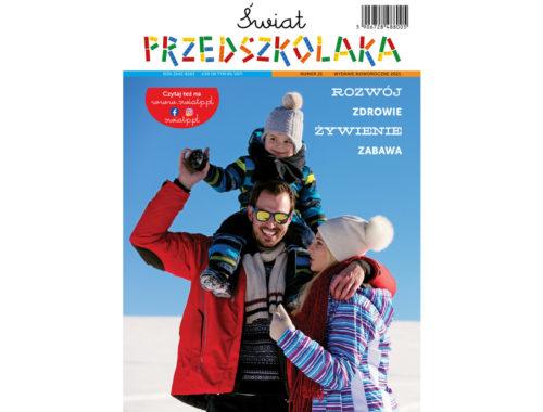 Świat Przedszkolaka 21 archiwalny numer czasopisma bezpłatnego czasopsima dla rodziców przedszkolaków