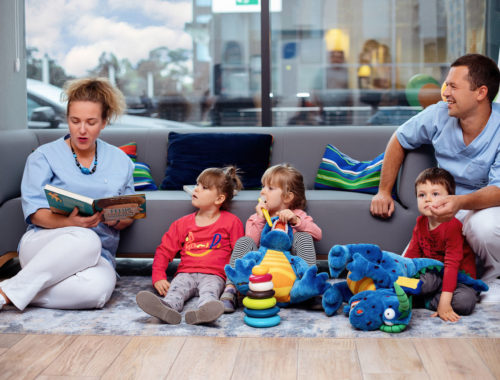gaz rozweselający u stomatologa dla dziecka