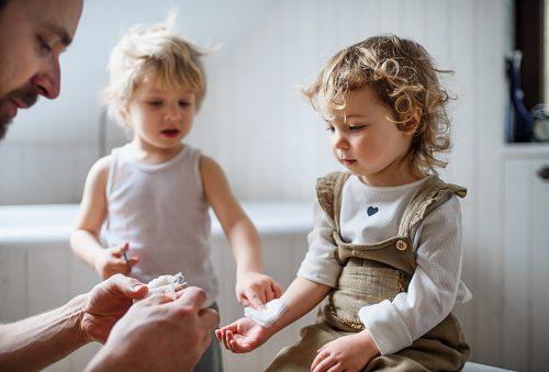 rany urazy skaleczenia u dziecka