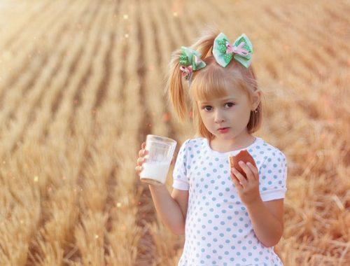 mleko krowie w diecie dziecka