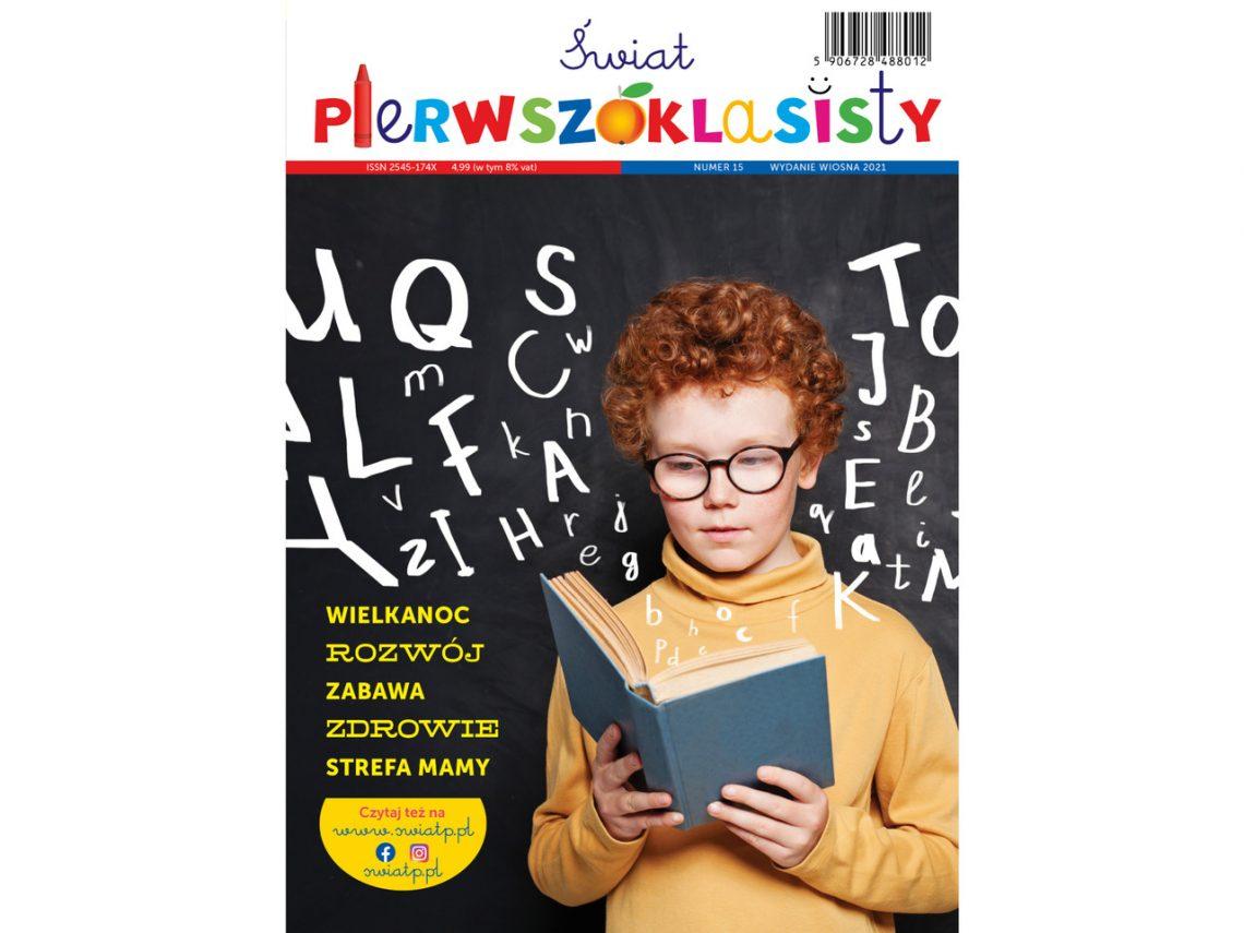 Świat Pierwszoklasisty nr 15 bezpłatne czasopismo dla rodziców pierwszoklasistów