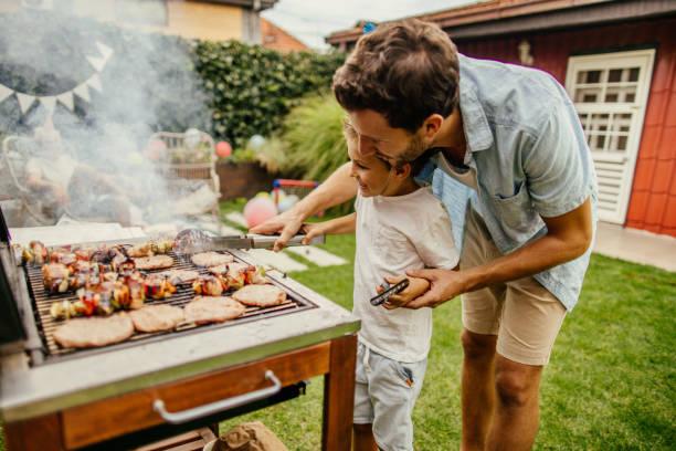 grill z rodziną i dziećmi przepisy