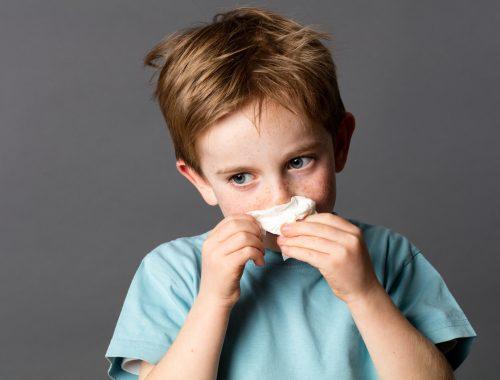 jesienne przeziębienia w szkole