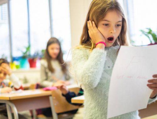 wpływ ocen na dziecko